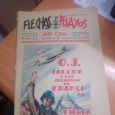 Livros de Banda Desenhada: FLECHAS Y PELAYOS Nº 5 CON RECORTABLE. Lote 269467978