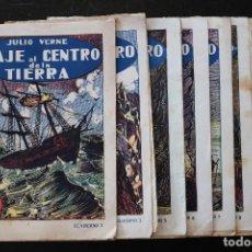 Tebeos: VIAJE AL CENTRO DE LA TIERRA - JULIO VERNE - EDITOR MAGIN PIÑOL - 15 CTS.. Lote 269944858