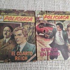 Tebeos: LA FOCA ES AVENTURA, POLICIACA - LOTE DE 2 EJEMPLARES ( NOVELA GRAFICA A COLOR ) ). Lote 32816188