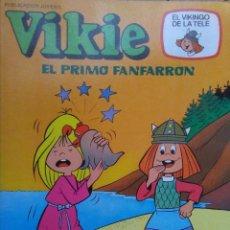 Tebeos: TEBEO DE VIKIE EL VIKINGO Nº 73 - EL PRIMO FANFARRÓN. Lote 270198773