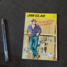 Tebeos: JUGANDO CON LA MUERTE JIM CLAK COLECCION CRIN EDICIONES BOIXHER. Lote 270981913
