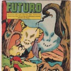 Tebeos: FUTURO Nº 20. ÚLTIMO DE LA COLECCIÓN. EDICIONES CLIPER 1957. Lote 293736673