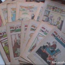 Tebeos: LOTE DE 14 REVISTAS EN PATUFET DE 1931, 1937 Y 1938.. Lote 273956808