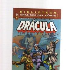 Tebeos: DRACULA GRANDES DEL COMIC BIBLIOTECA N,9. Lote 274345273
