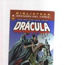 Tebeos: DRACULA GRANDES DEL COMIC BIBLIOTECA N,11. Lote 274345573