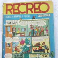 Tebeos: RECREO Nº11 AÑO 1967 EDICINES BARGADA. Lote 274599853