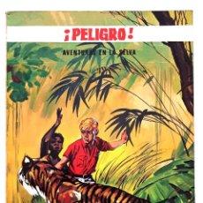 Giornalini: PELIGRO - AVENTURAS EN LA SELVA Nº 4 - EDITORIAL EUREDIT 1969 - BUEN ESTADO. Lote 274746068
