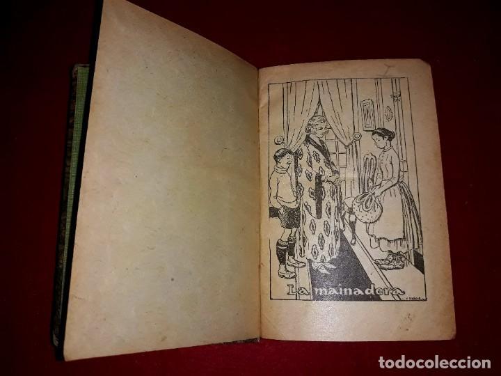 Tebeos: Contes d´en Patufet 4 Volums ( Anys 30 ) i Regal Volum esquitx i volum de contes mès petit - Foto 5 - 274917463