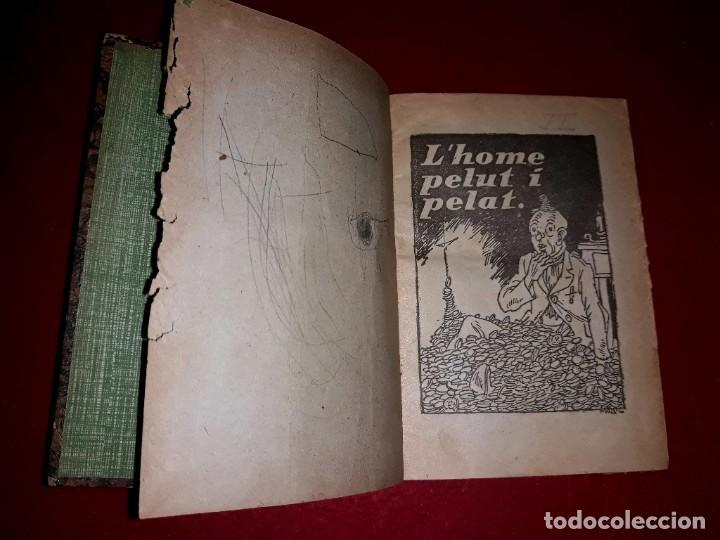 Tebeos: Contes d´en Patufet 4 Volums ( Anys 30 ) i Regal Volum esquitx i volum de contes mès petit - Foto 6 - 274917463