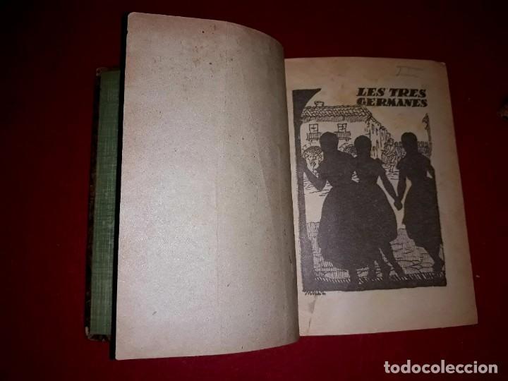 Tebeos: Contes d´en Patufet 4 Volums ( Anys 30 ) i Regal Volum esquitx i volum de contes mès petit - Foto 7 - 274917463