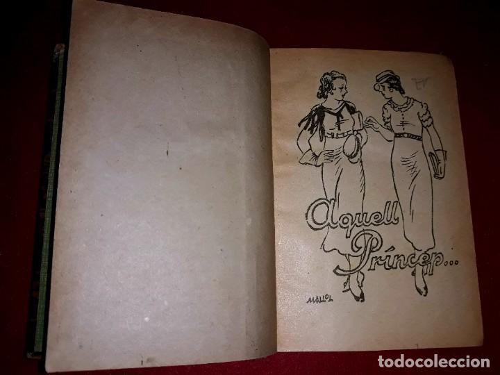 Tebeos: Contes d´en Patufet 4 Volums ( Anys 30 ) i Regal Volum esquitx i volum de contes mès petit - Foto 8 - 274917463