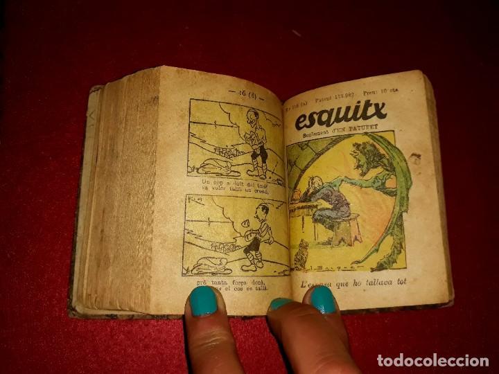 Tebeos: Contes d´en Patufet 4 Volums ( Anys 30 ) i Regal Volum esquitx i volum de contes mès petit - Foto 12 - 274917463