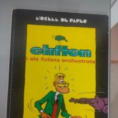 Tebeos: COMIC CLIFTON I ELS FOLLETS ENDIASTRATS 1970 JAIME LIBROS ABADÍA DE MONTSERRAT. Lote 275153423