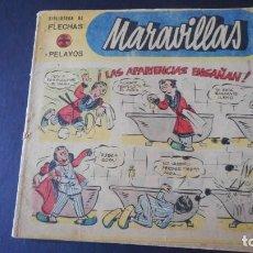 Tebeos: MARAVILLAS Nº 166. Lote 275297323
