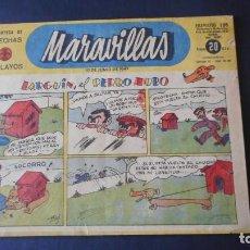 Tebeos: MARAVILLAS Nº 196. Lote 275297798