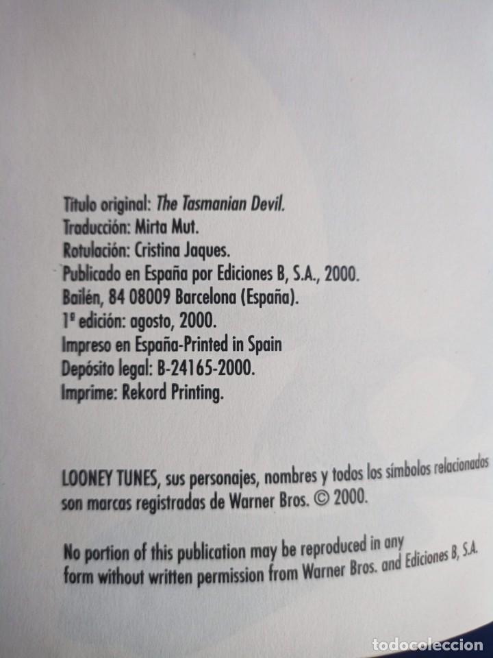 Tebeos: El Diablo de Tasmania, Looney Tunes Nr.3, 2000,Ediciones Grupo Zeta - Foto 2 - 275781883