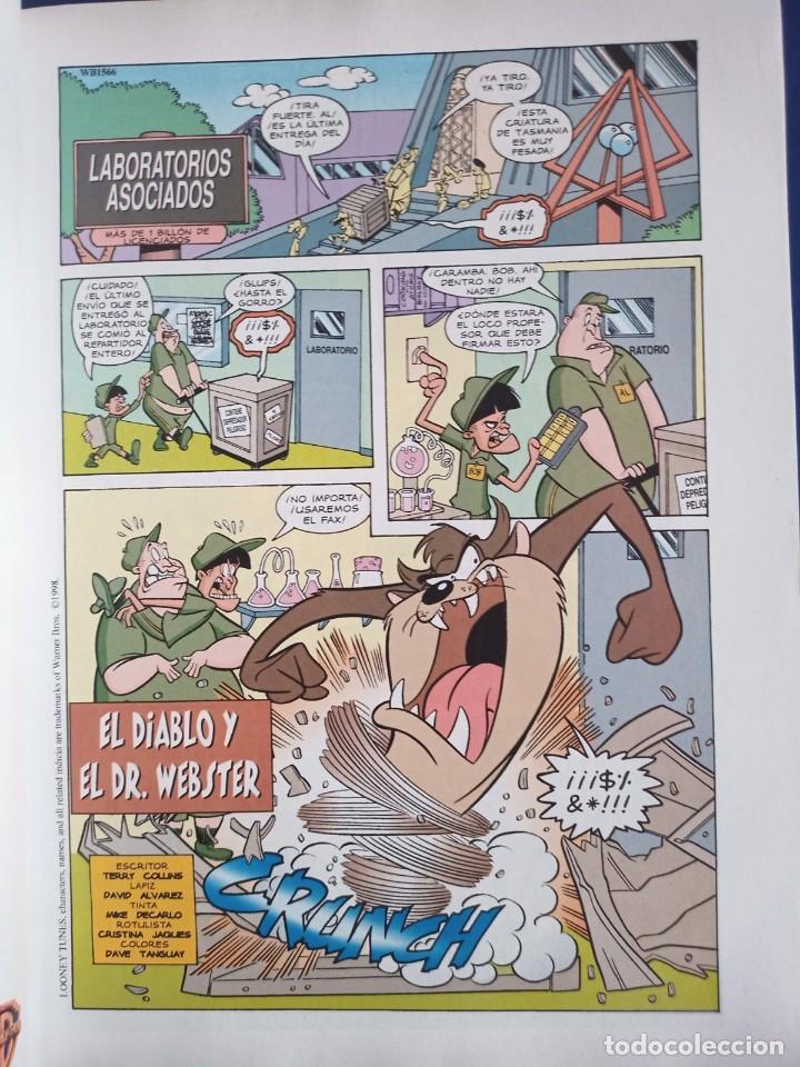 Tebeos: El Diablo de Tasmania, Looney Tunes Nr.3, 2000,Ediciones Grupo Zeta - Foto 5 - 275781883