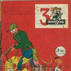 Tebeos: 3 AMIGOS Nº 35- PPC - NOVIEMBRE 1959 - CON TINTIN: EL TESORO DE RACKHAM EL ROJO, DE HERGE. Lote 276537888
