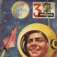 Tebeos: 3 AMIGOS EXTRAORDINARIO VERANO Nº 20 21 22 1958 - CON TINTIN: EL SECRETO DEL UNICORNIO, DE HERGE. Lote 276538913