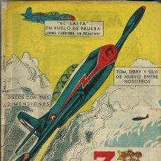Giornalini: 3 AMIGOS Nº 30 - PPC 1959 - CON TINTIN: EL TESORO DE RACKHAM EL ROJO, DE HERGE. Lote 276539213