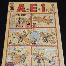 Giornalini: A.E.I. ALBUM DE HISTORIETAS INFANTILES / PAPA NATAS Y SUS HIJOS / DIFÍCIL.. Lote 276560208