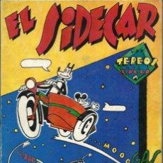 Tebeos: EL SIDECAR - LOS TEBEOS DEL RROLLO Nº 2 1976 - UNDERGROUND:. Lote 276672868