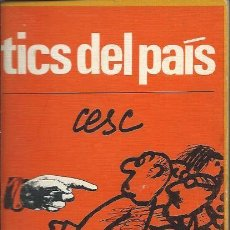 Tebeos: CESC - TICS DEL PAIS - PENINSULA - EDIC IONES DE BOLSILLO 164 1971. Lote 276700743