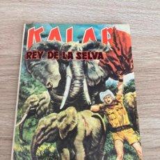 Tebeos: KALAR REY DE LA SELVA Nº 35. PRODUCCIONES EDITORIALES 1980. NUEVO. Lote 277242768