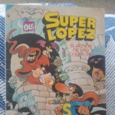 """Tebeos: COMIC SUPER LOPEZ """"EL SEÑOR DE LOS CHUPETES"""". Lote 277262783"""