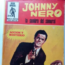 Tebeos: MISIÓN IMPOSIBLE-EUREDIT- Nº 25 -JOHNNY NERO-LA SOMBRA DEL SAMURAI-1971-PAULO MONTECCHI-BUENO-5330. Lote 280111253