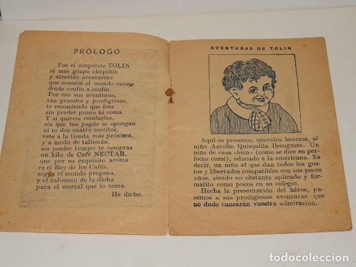 Tebeos: (M0) AVENTURAS DE TOLIN - VEINTISEIS LEGUAS DE VIAJE SUBMARINO N.1 - IMO. LA IDEAL MADRID, MUY RARO - Foto 2 - 281067053