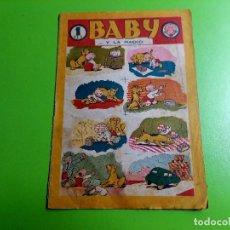 Tebeos: BABY Y LA RADIO -TEBEO UNICO -SIN REFERENCIAS -DIBUJOS DE A.PARDO..ENTRE OTROS. Lote 284009103