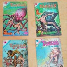 BDs: 4 COMICS ANTIGUOS TARZAN. Lote 284152633
