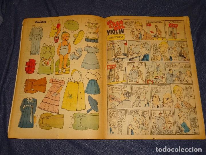 Tebeos: (M1) ALMANAQUE FLECHAS Y PELAYOS 1948 - RECORTABLE MUÑECAS CARLOTITA, SEÑALES DE USO NORMALES - Foto 2 - 285231138