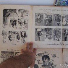Tebeos: I.LOPEZ,- EL TIBURON ALMANAQUE HUMORISTICO ILUSTRADO PARA 1863 ES EL Nº 1. Lote 285599088