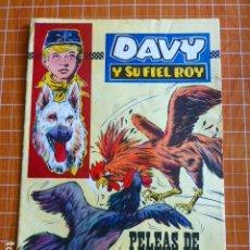Tebeos: DAVY Y SU FIEL ROY Nº 283 PELEAS DE GALLOS ED. OLIVE Y HONTORIA. Lote 286329488