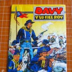Tebeos: DAVY Y SU FIEL ROY Nº 291 EL CAPITAN MANO DURA ED. OLIVE Y HONTORIA. Lote 286331108