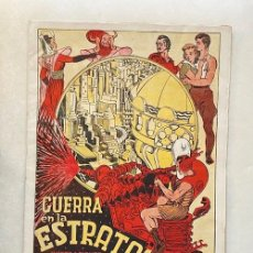 Tebeos: GUERRA EN LA ESTRATOSFERA. CIENCIA FICCIÓN. GATO NEGRO, 1938. PERIODO GUERRA CIVIL. PERFECTO ESTADO. Lote 286649018