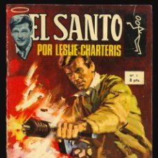 Livros de Banda Desenhada: EL SANTO - SEMIC / NÚMERO 1. Lote 287106573