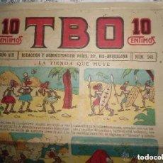 Tebeos: ANTIGUO TBO PRIMERA EPOCA - NUMERO 948 - LA TIENDA QUE HUYE. Lote 287460373