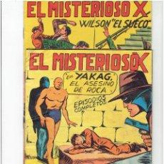 Tebeos: ARCHIVO * EL MISTEROSO X * Nº 23, 28, ORIGINALES EN BUEN ESTADO * EDITORIAL GARGA 1950 *. Lote 287859988