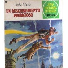 Tebeos: JOYAS LITERARIA JUVENILES UN DESCUBRIMIENTO PRODIGIOSO N,194. Lote 287869573