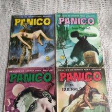 Tebeos: PANICO , LOTE DE 4 EJEMPLARES ( TEBEOS DE TERROR ). Lote 32676329