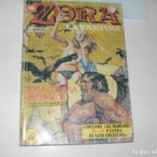 Tebeos: RETAPADO ZORA LA VAMPIRA 19,20 Y EXTRA 1.EDICIONES ZINCO,AÑO 1987.. Lote 287916268