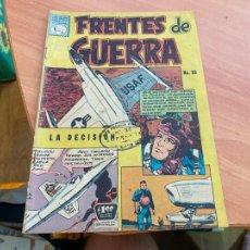 Tebeos: FRENTES DE GUERRA Nº 85 (ORIGINAL LA PRENSA) (COIB207). Lote 287954238