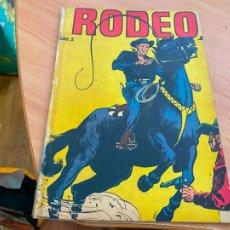 Tebeos: RODEO Nº 2 (ORIGINAL LA PRENSA) DIFICIL (COIB207). Lote 287955823