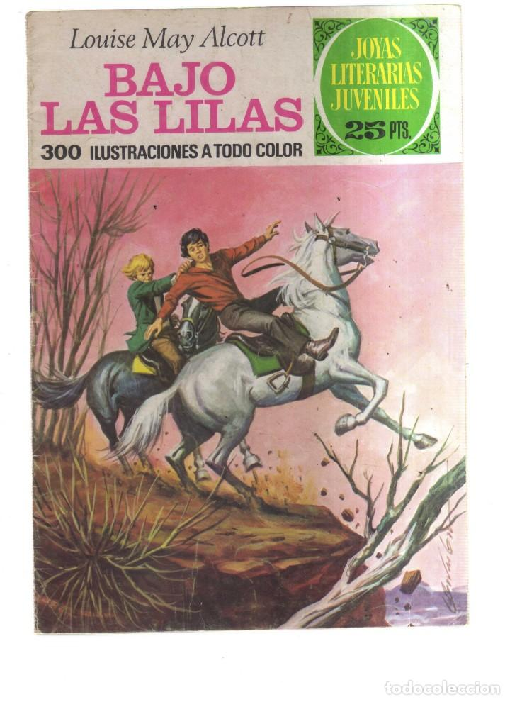 JOYAS LITERARIA JUVENILES BAJO LAS LILAS N,169 (Tebeos y Comics - Tebeos Otras Editoriales Clásicas)