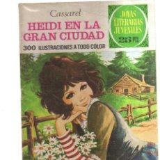 Tebeos: JOYAS LITERARIA JUVENILES HEIDI EN LA GRAN CIUDAD N,170. Lote 288008328