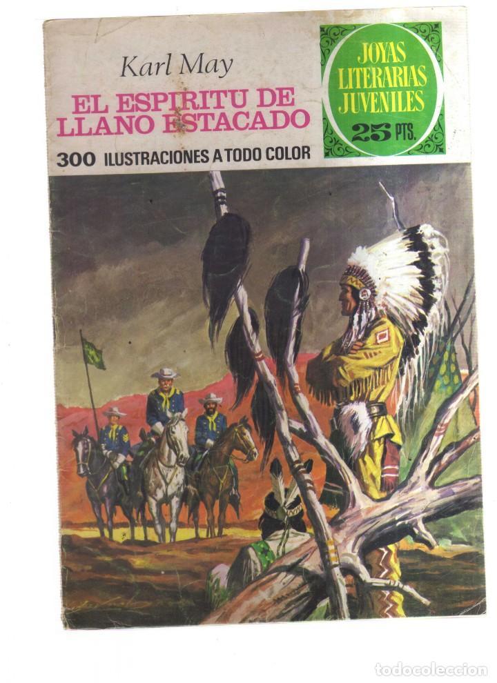 JOYAS LITERARIA JUVENILES EL ESPIRITU DE LLANO ESTACADO N,172 (Tebeos y Comics - Tebeos Otras Editoriales Clásicas)