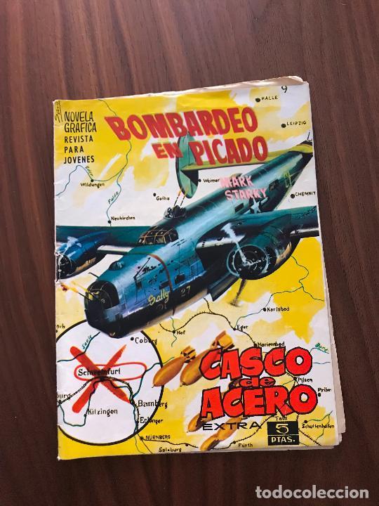 CASCO DE ACERO EXTRA Nº 9, NOVELA GRÁFICA, EDICIONES MANHATTAN (Tebeos y Comics - Tebeos Otras Editoriales Clásicas)